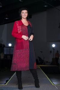 Fashion Show, Local Cloth, Asheville, Liz Spear, Neal Howard
