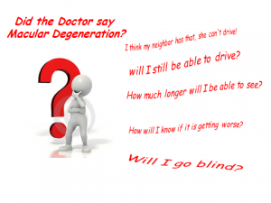FEBRUARY IS MACULAR DEGENERATION AND LOW VISION AWARENESS MONTH