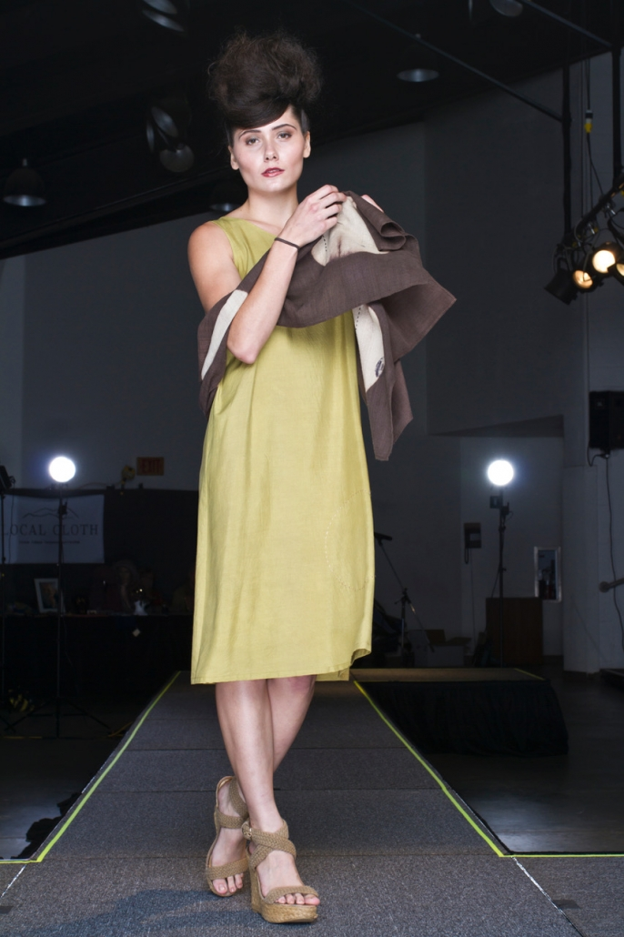 Barbara Zaretsky, Asheville, North Carolina, Local Cloth Fashion Show