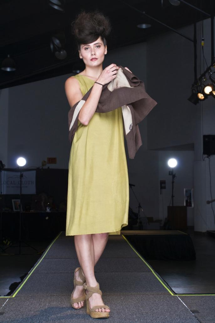 Barbara Zaretsky, Asheville, North Carolina, Local Cloth Fashion Show